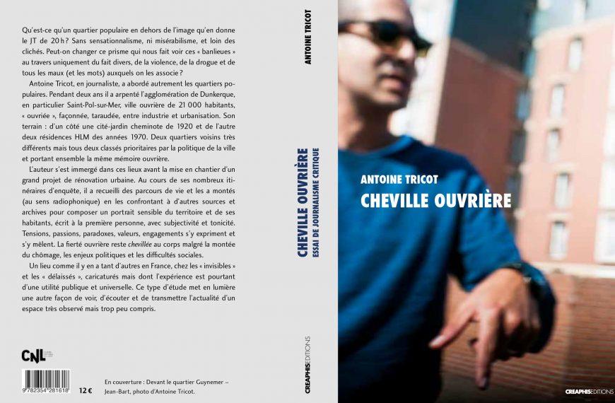 Livre – Cheville Ouvrière – Le 24 septembre en librairie