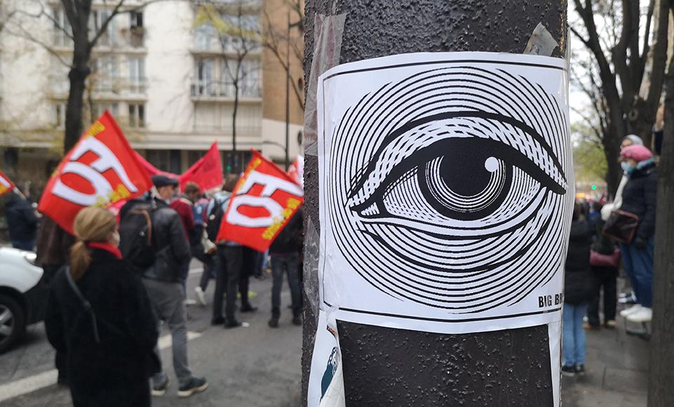 Manifestation contre la loi sécurité globale - 05-12-2020